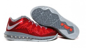 "Air Max LeBron X Low University Red (Release Reminder: Nike LeBron X Low ""University Red"")"