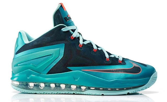 "LeBron 11 Max Low ""Turbo Green"""