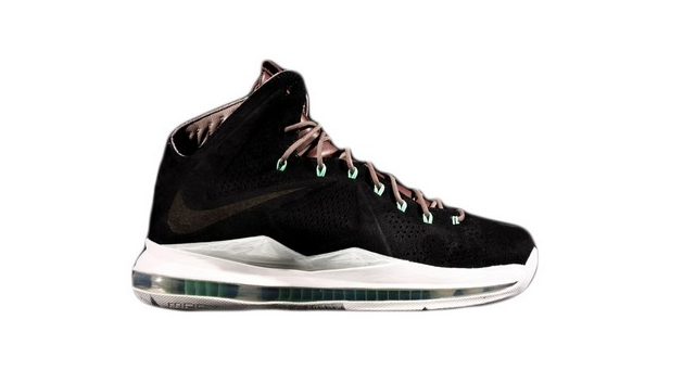 "LeBron X NSW ""Black Suede"""