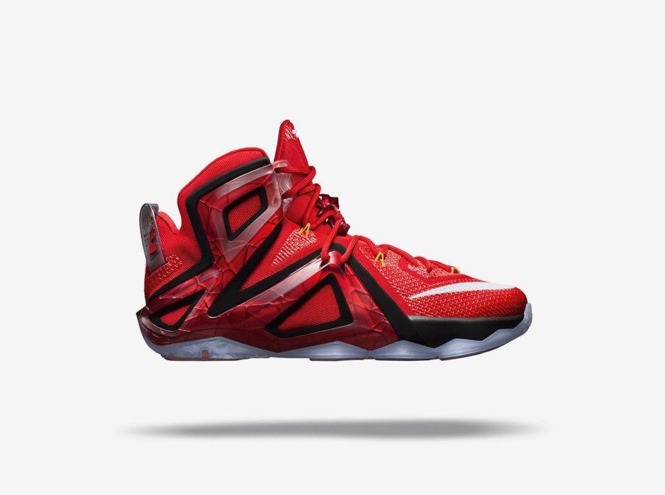 Lebron 12 Elite Red 0 275