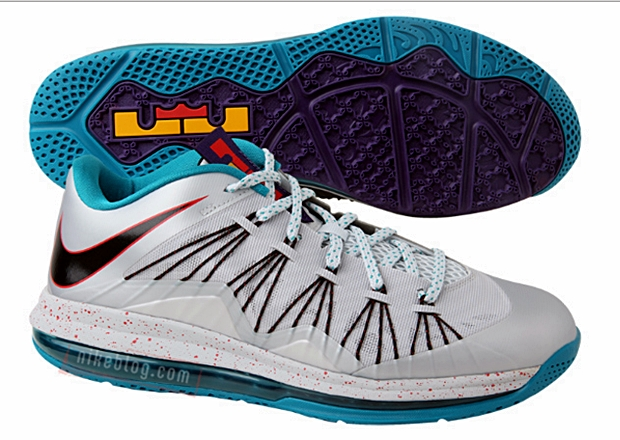 "Nike Air Max LeBron X Low ""Akron Aeros"""