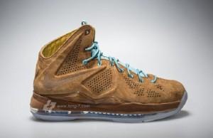 "Nike LeBron 2-Time Championship Pack (Release Date: Nike LeBron X ""Hazelnut"")"
