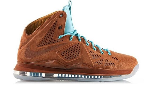 "Nike LeBron X ""Hazelnut"""
