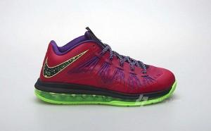 "Nike LeBron X Low Raspberry (Nike LeBron X Low ""Raspberry"" Release Date Announced)"