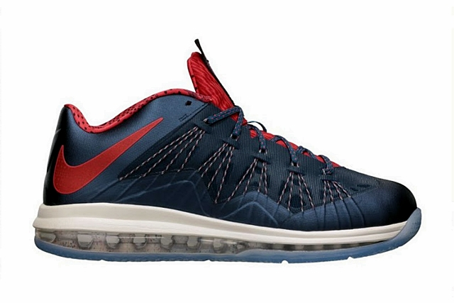"Nike LeBron X Low ""USA Basketball"""