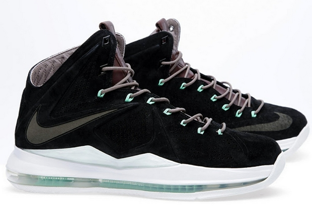"Nike LeBron X NSW ""Black Suede"""