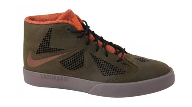 Nike LeBron X NSW Dark Olive