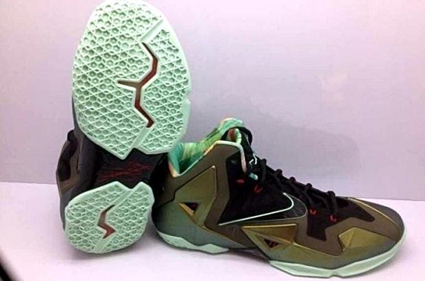 Nike LeBron XI Army Slate