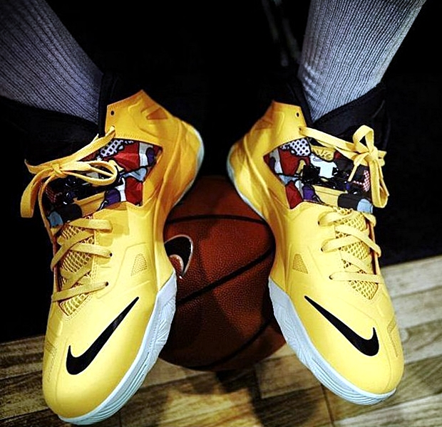 Nike Zoom Soldier VII Yellow/Black