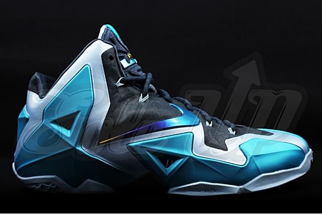 """Nike LeBron XI """"Gamma Blue"""""""