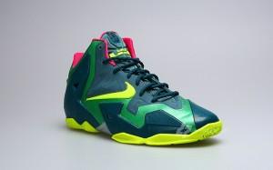 "nike lebron xi t-rex (Nike LeBron XI GS ""T-Rex"" Edition Unveiled)"