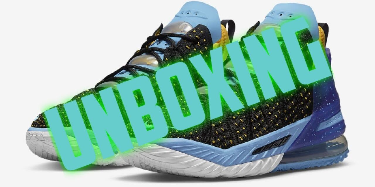 UNBOXING | FIRST LOOK | NIKE LEBRON 18 DYNASTY