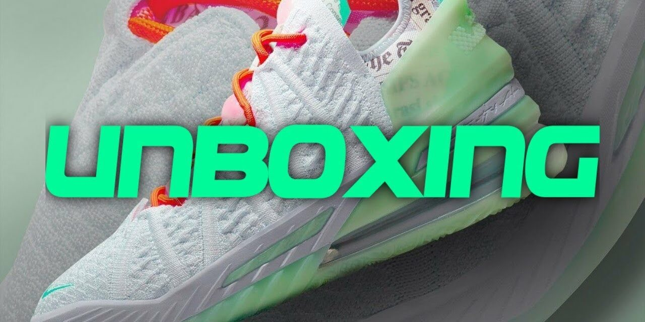 UNBOXING   NIKE LEBRON 18 G.O.A.T.