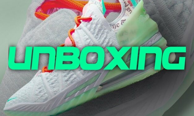 UNBOXING | NIKE LEBRON 18 G.O.A.T.