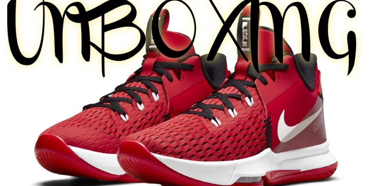 UNBOXING   NIKE LEBRON WITNESS 5 RED