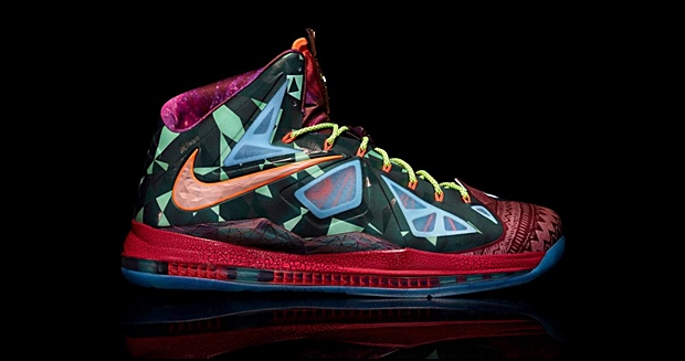 Check Out The Eye-Popping LeBron X MVP Edition