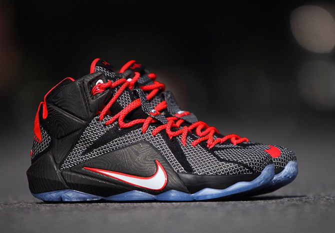 Lebron 12 Court Vision- January 31 Release