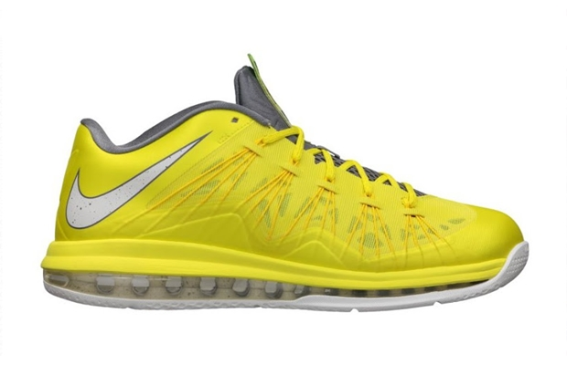 "Nike LeBron X Low ""Sonic Yellow"" Hitting Shelves Today"