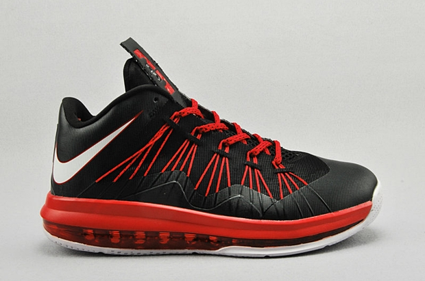 Release Reminder: Nike LeBron X Low Black Total Crimson