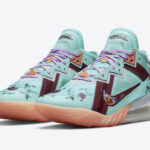 Nike LeBron 18 Low Floral CV7562-400 Release Date