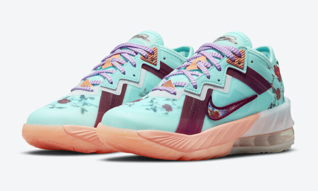 Nike LeBron 18 Low GS Floral DN4177-400 Release Date