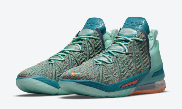 Nike LeBron 18 We Are Family CQ9283-300 Release Date