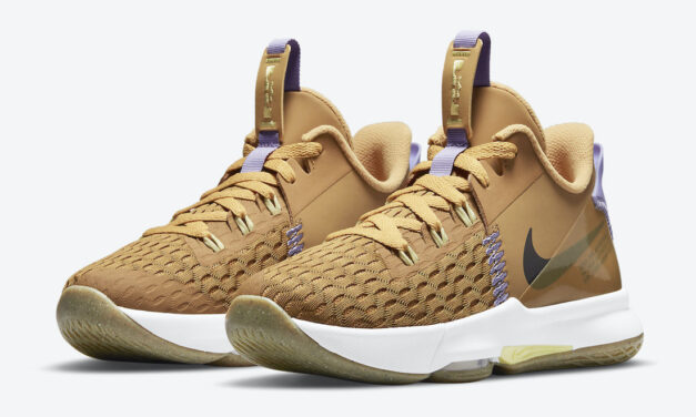 Nike LeBron Witness 5 GS Wheat CT4629-700 Release Date