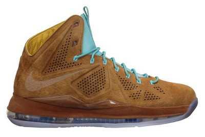 """Release Reminder: Nike LeBron X """"Hazelnut"""""""