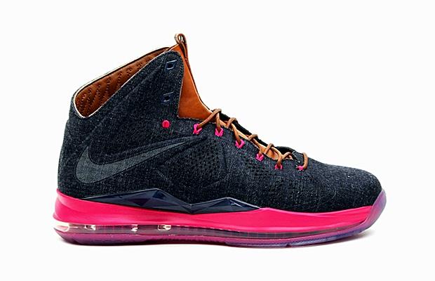 "Nike LeBron X EXT ""Denim"""