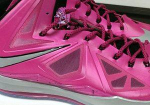 "Nike LeBron X Kay Yow (Sneak Peak: Nike LeBron X ""Kay Yow"")"