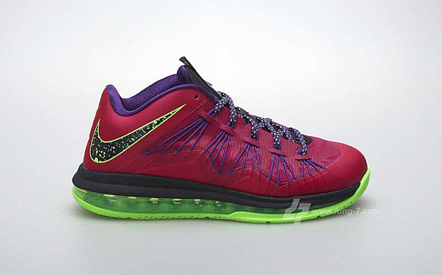 "Nike LeBron X Low ""Raspberry"" Release Date Announced"