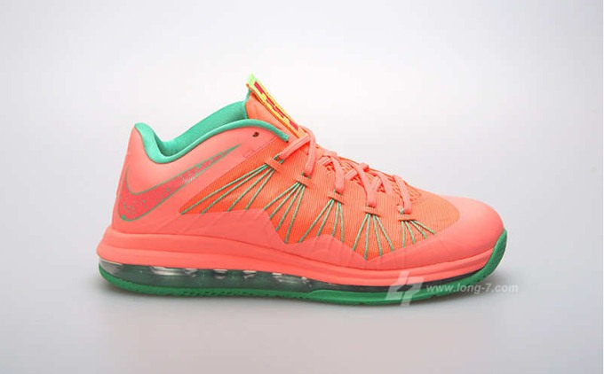 "Nike LeBron X Low ""Watermelon"" Release Date Announced"