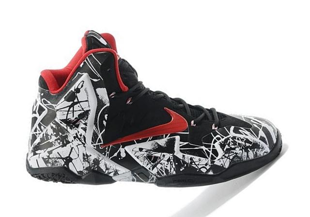 "Release Reminder: Nike LeBron XI ""Graffiti"" Edition"