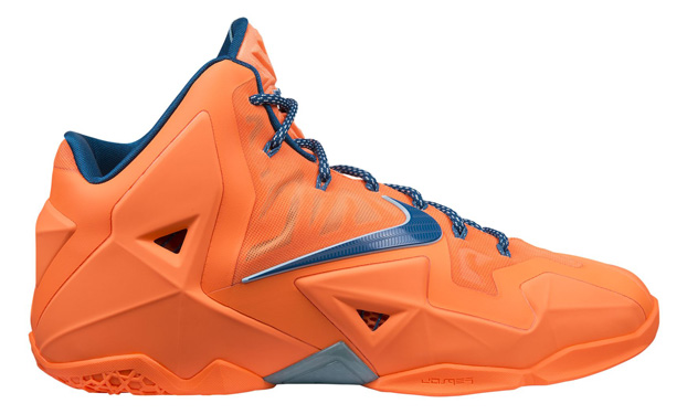 "Release Reminder: Nike LeBron 11 ""Atomic Orange"""