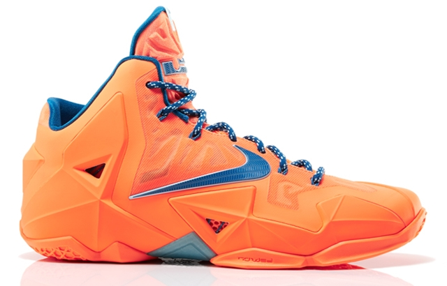 "Nike LeBron 11 ""Atomic Orange"" Coming Out Soon"