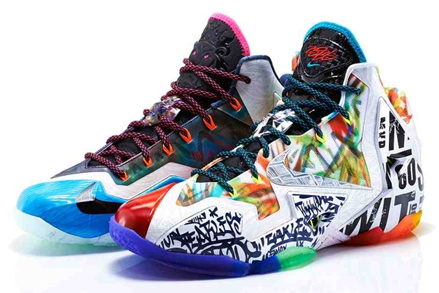 "Nike LeBron 11 ""What The"" Released"