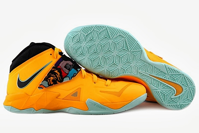 "LeBron Nike Zoom Soldier VII ""Pop Art"" Set For October 2013 Release"