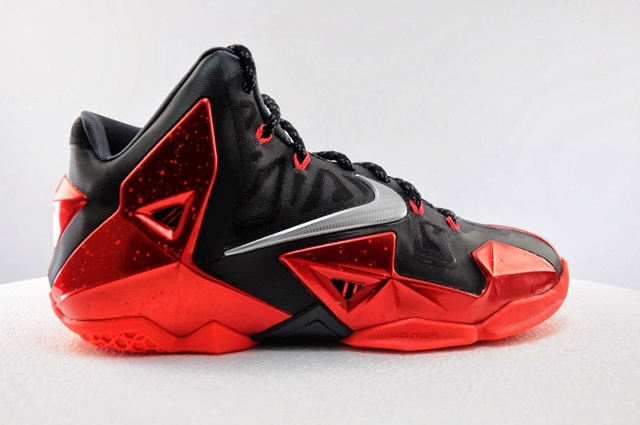 "Release Date: Nike LeBron XI ""Miami Heat Away"" Edition"