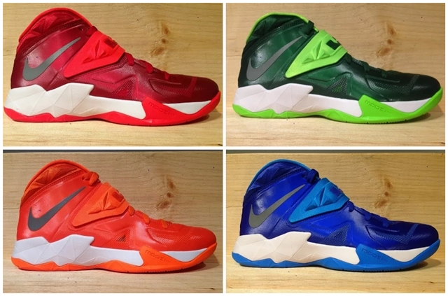 LeBron Nike Zoom Soldier VII Team Bank Styles