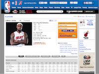 Lebron NBA Profile